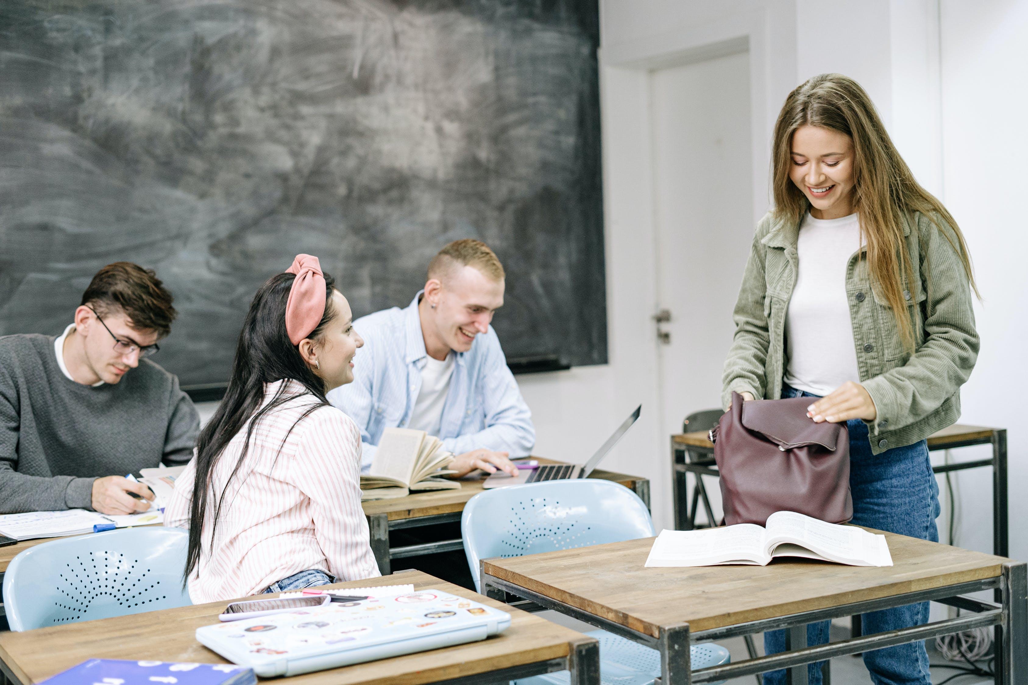 estudantes do ensino medio