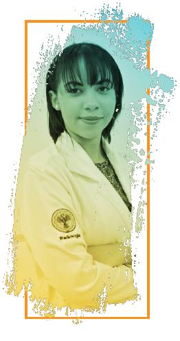 Alcilene Cristina, estudante do 6º período de Radiologia.